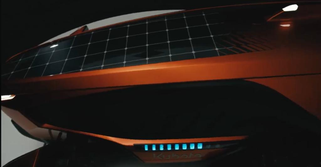 KUBOTA Pannelli solari nel trattore
