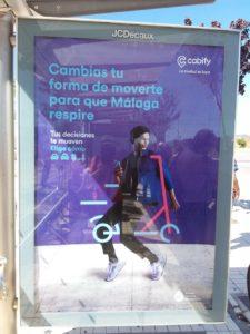 pubblicità per la micro mobilità