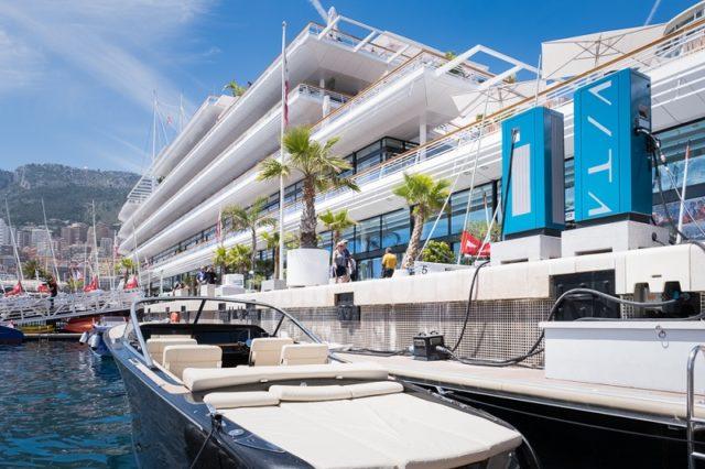 Una colonnina a Monaco
