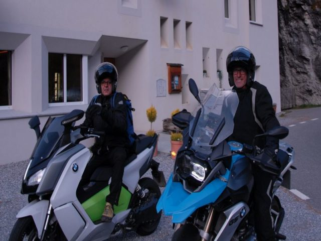 Ospiti in moto