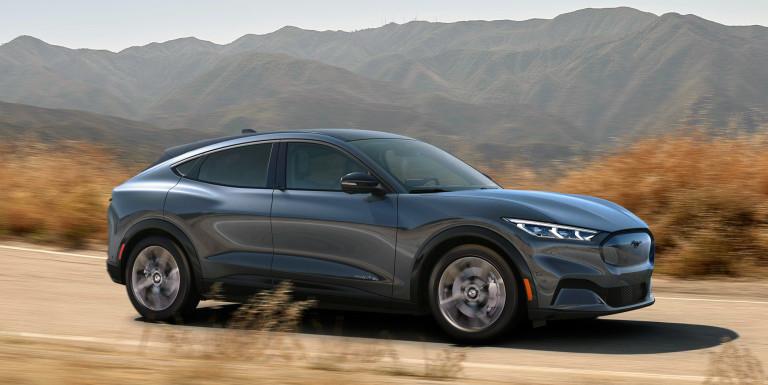 Il profilo della Mustang
