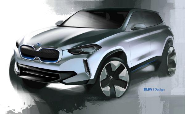 Arriva la BMW iX3