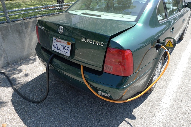 Retrofit elettrico sulla Passat