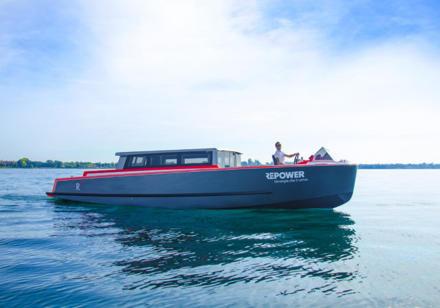 Il cabinato del marchio Repower