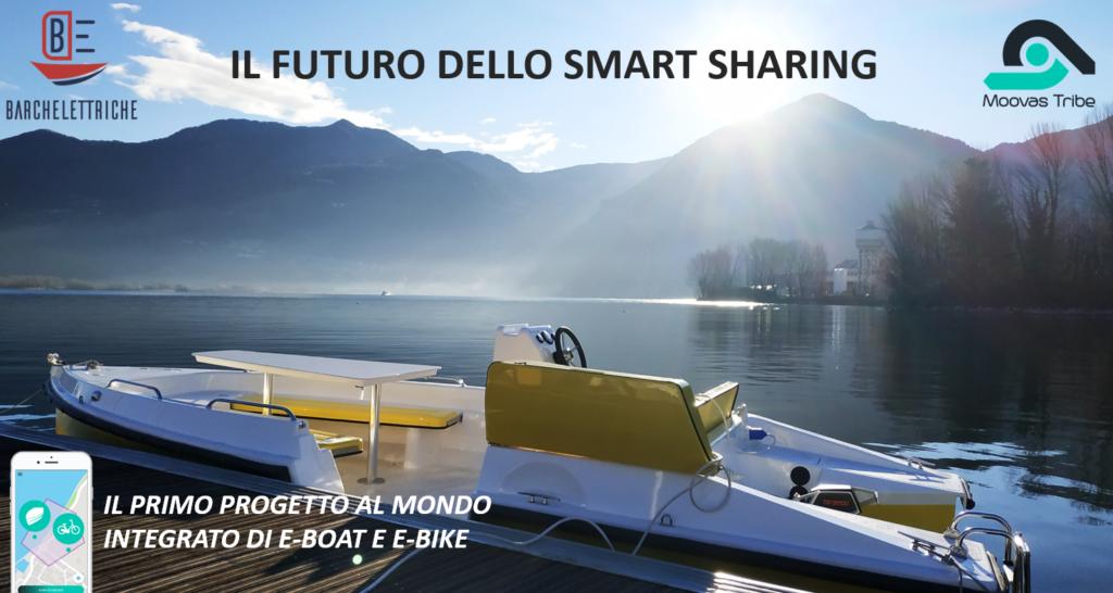 Barca elettrica sharing