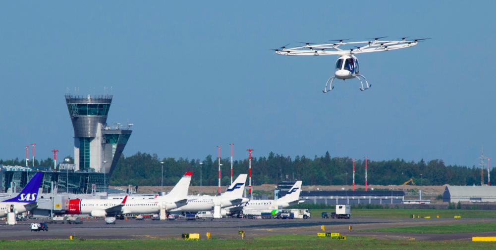 Volocopter in volo