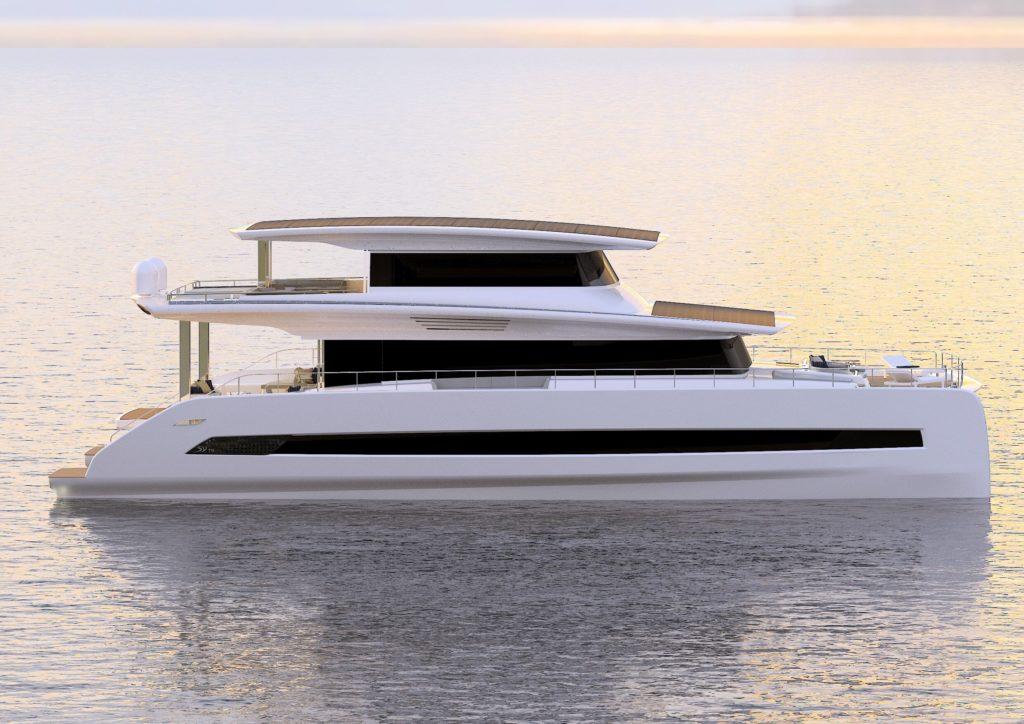 il catamarano solare