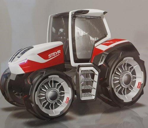 Il trattore ibrido Steyr