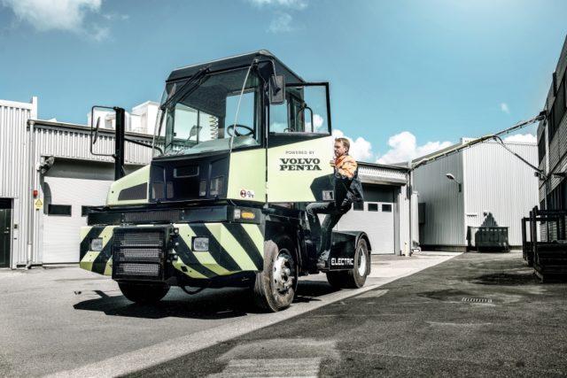 Il trattore alla fiera di Rotterdam