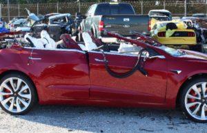 Tesla Model 3 incidente