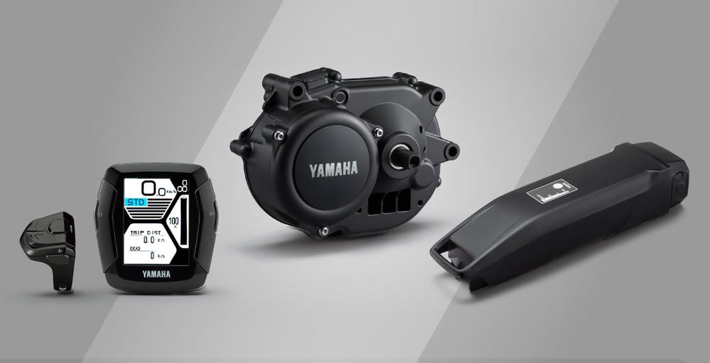 Yamaha Tra Motore E E Bike Vaielettrico