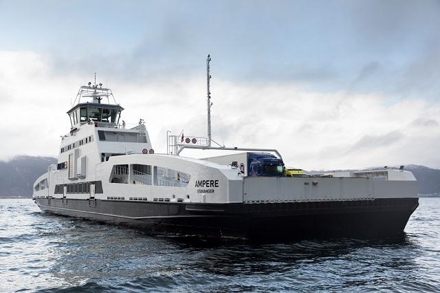 Il traghetto norvese full electric