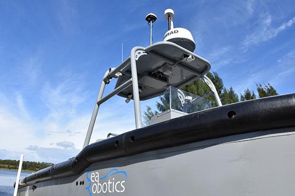 Barca autonoma Torqeedo