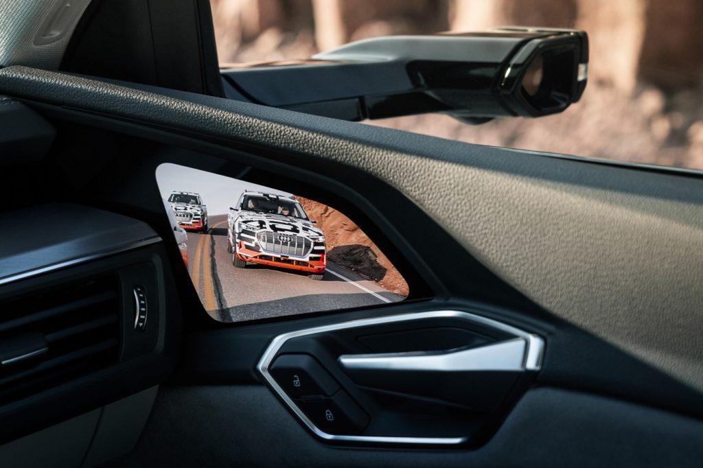 Audi e-tron virtual mirror