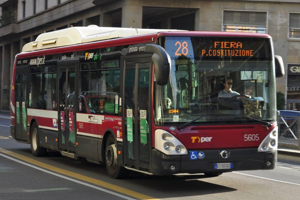 Autobus non elettrico