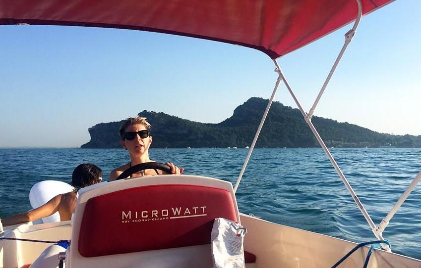 Una barca facile da guidare