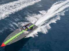 La barca di Misano che vola a 41 nodi