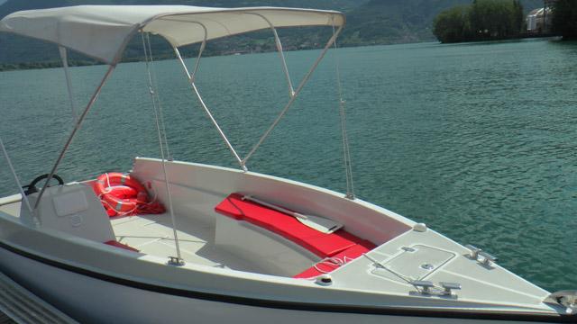 Un delle due barche