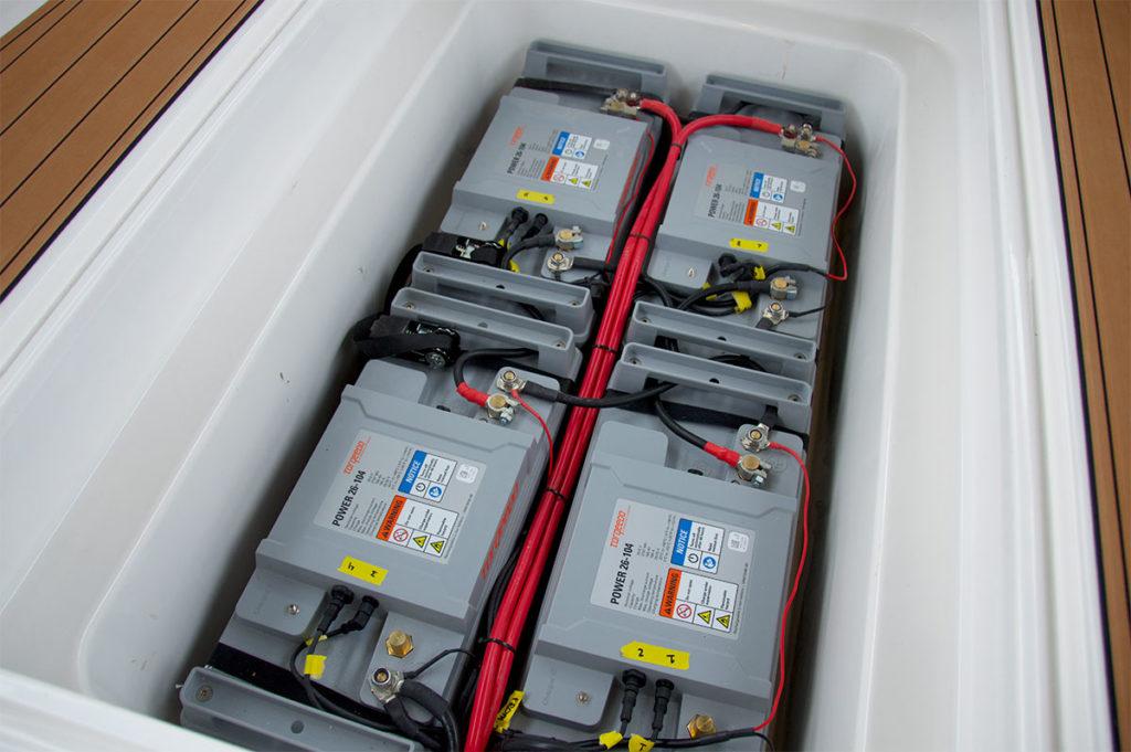 Il pacco batterie