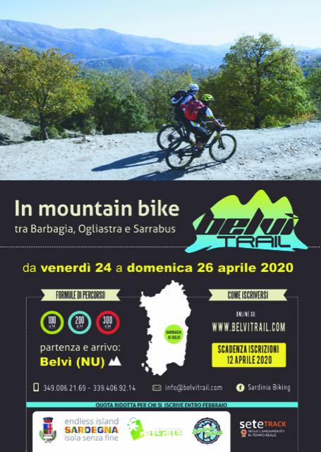 Belvì Trail Locandina