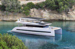 il nuovo catamarano della SILENT