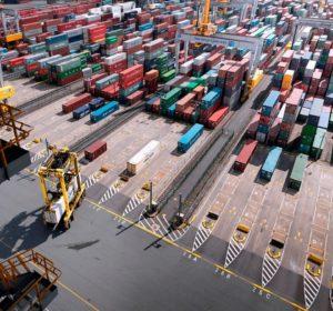 La movimentazione dei container