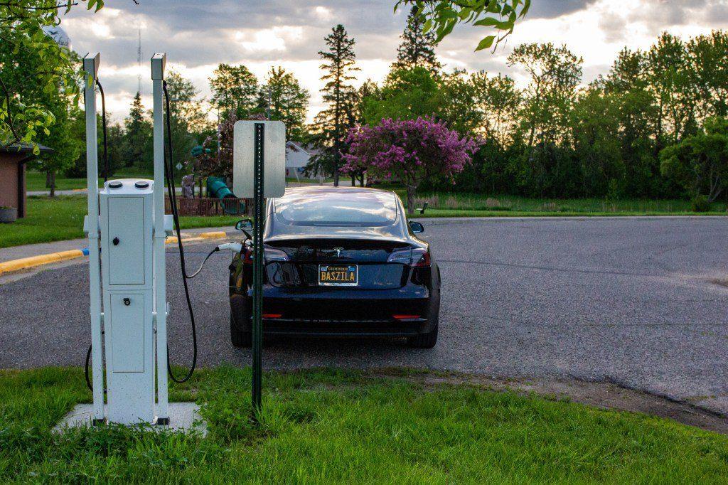 Tesla Model 3 Driessen