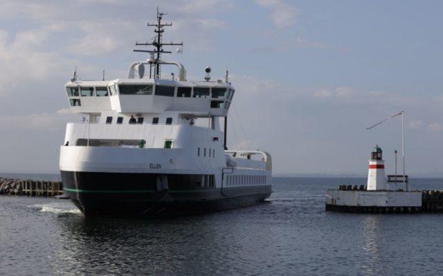 Un traghetto elettrico