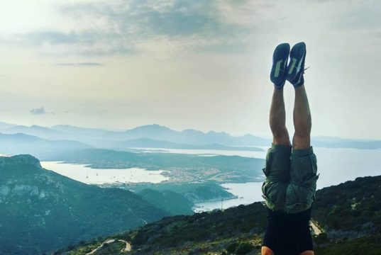 dopo la pedalata gli esercizi di yoga