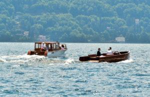 Le due barche elettriche del cantiere Riva
