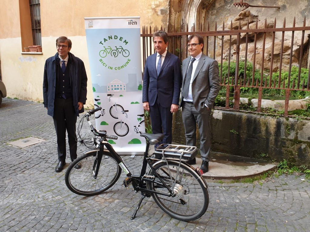 """Tandem: bici in Comune""."