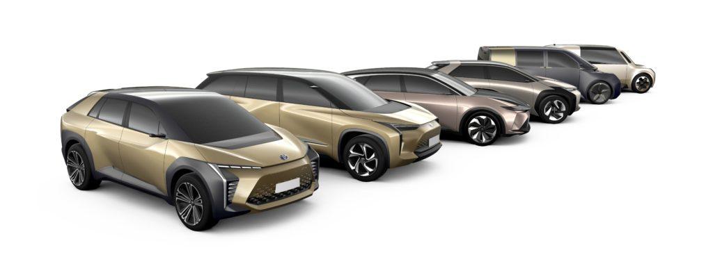 Toyota elettriche