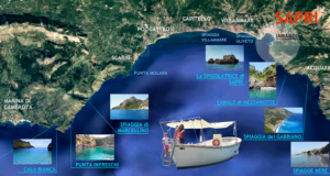 Il golfo dove si navigherà la barca elettrica