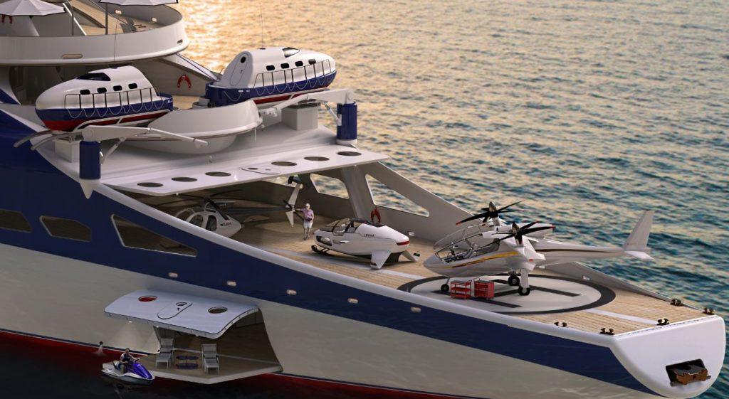 DEEPSEAKER su super yacht