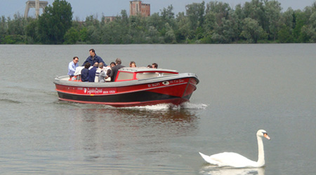 La barca ibrida di Amadi