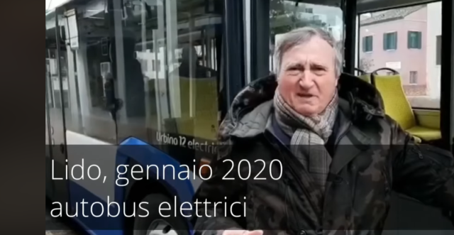 Brugnaro Venezia Autobus Elettrici