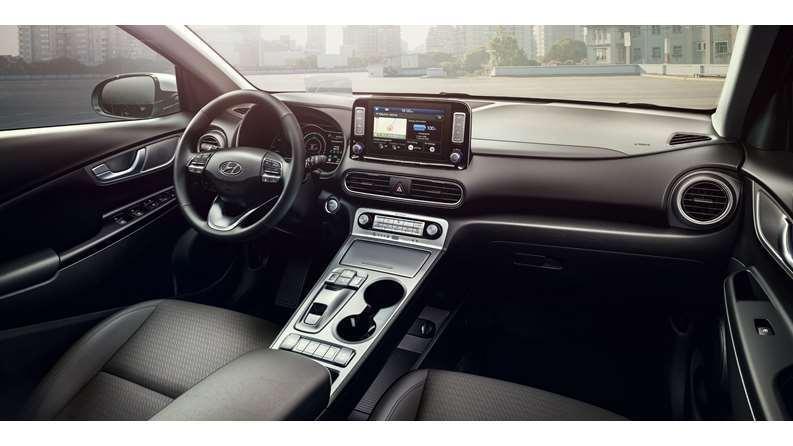 Hyundai Kona EV -interno