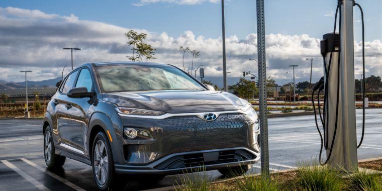 Hyundai Kona EV / Piovono Suv elettrici