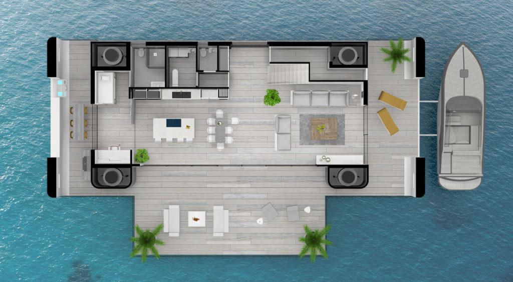 la mappa della casa