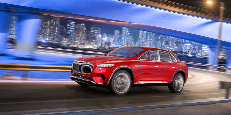 mercedes-benz vision mercedes maybach ultimate luxury