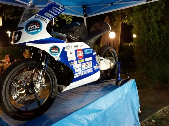 La moto esposta a Modena