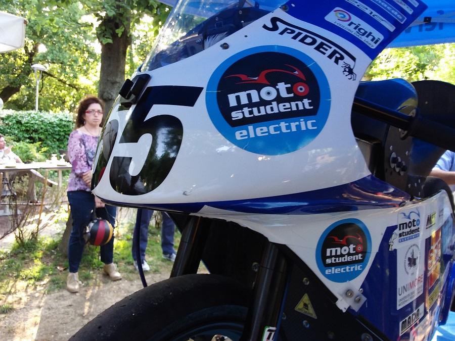 E-Moto degli studenti di Unimore