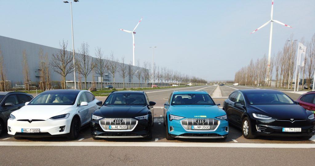 nextmove, tesla, Audi e-tron consumi autonomia