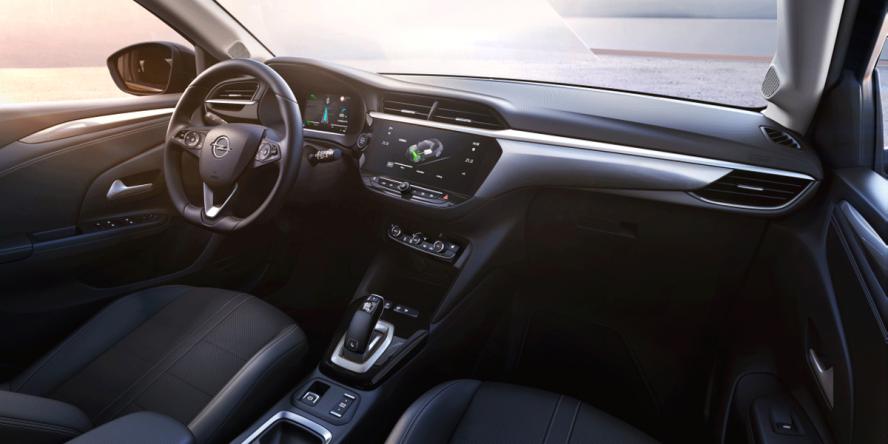 Opel Corsa-e cockpit