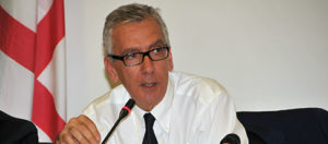 Il presidente della Regione Sardegna