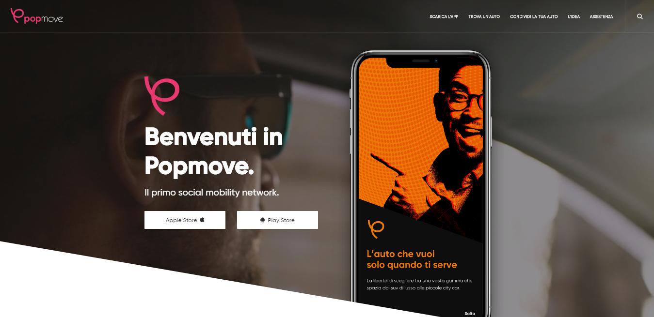 L'app di Popmove