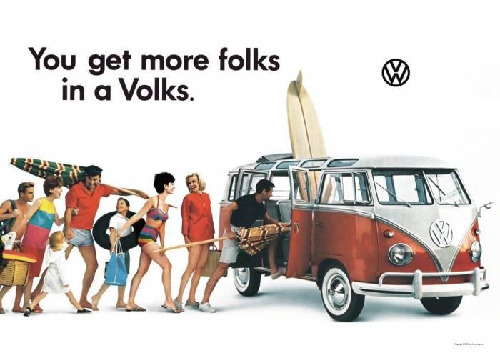 Volkswagen Bulli ad