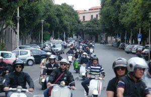 Sono numerosi in Italia i raduni dedicati alla Vespa