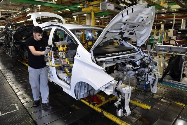 Renault Zoe, catena di montaggio