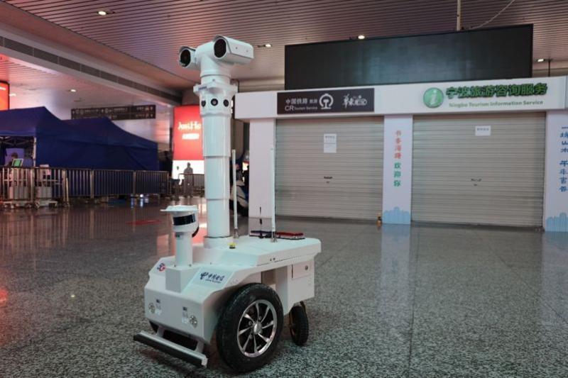 Il robot-pattuglia
